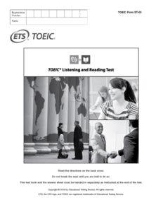 TOEIC L&R Test für Auszubildende